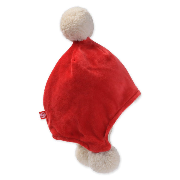 Zutano Velour Pom Pom Hat, Red