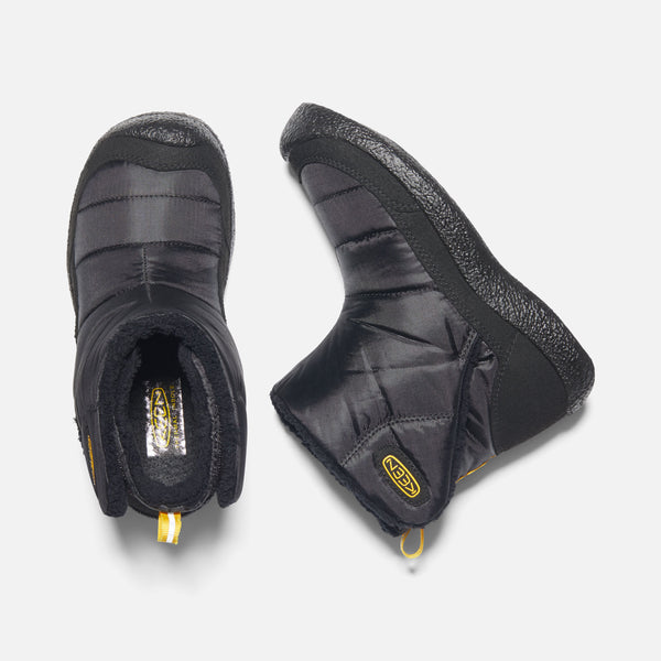 KEEN Howser II Black/KEEN Yellow Insulated Slip-On Boot