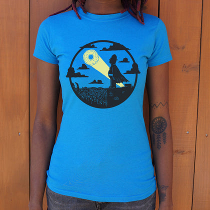The D'Oh Knight Superhero T-Shirt (Ladies)