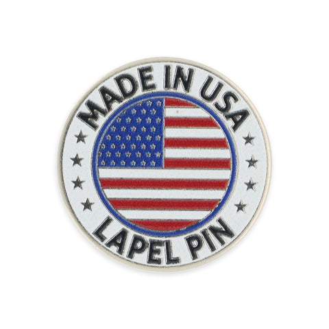 Made in America- Dimensionally Printed Lapel Pin