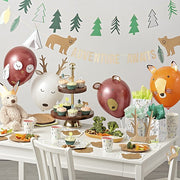 woodland animal party supplies