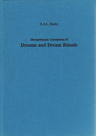 Mesopotamian Conceptions of Dreams and Dream Rituals. (AOAT 258)