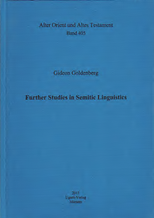 Further Studies in Semitic Linguistic (AOAT 405)