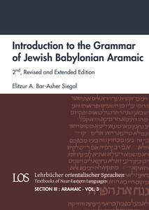 Introduction to the Grammar of Jewish Babylonian Aramaic. (LOS III/3.2)