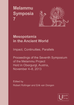 Mesopotamia in the Ancient World. (MS 7)