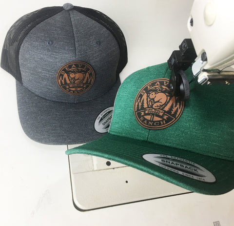 Curved Bill Two-Tone Trucker Hat