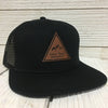 Personalized Leather Patch Hats Leatherette Patches