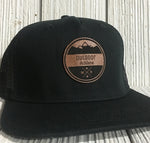 Personalized leather Patch Hats My Line Colorado