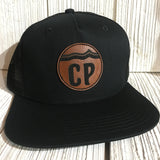 Custom Snapback hats Leather patches MyLine Denver, CO