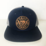 Custom Hats No Minimums Golden, Colorado MyLine Custom Leather patch hats