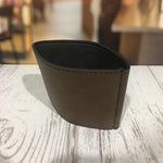 Personalized gifts Leather Coffee Sleeve Colorado