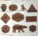 Custom Patches Personalized Leather Patches My Line Colorado
