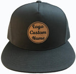 Custom Trucker Hats MyLine Original Leather Patch Trucker Hat