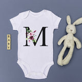 Personalized baby gifts Custom print baby shirts