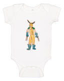 Custom Art on Infant onesies custom baby bodysuit