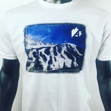 A-Basin T-Shirt Custom Printing Golden Colorado MyLine Custom Clothing Trail Map Tee