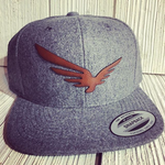 Custom Snapback Hats Personalized Leather and Wool hats