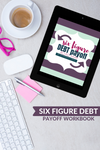 Pay Off Debt Workbook- Organize Your Finances