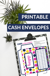 Printable Cash Budgeting Envelopes (Polka Dot)