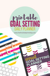Printable Goal Setting Life Planner (Undated)