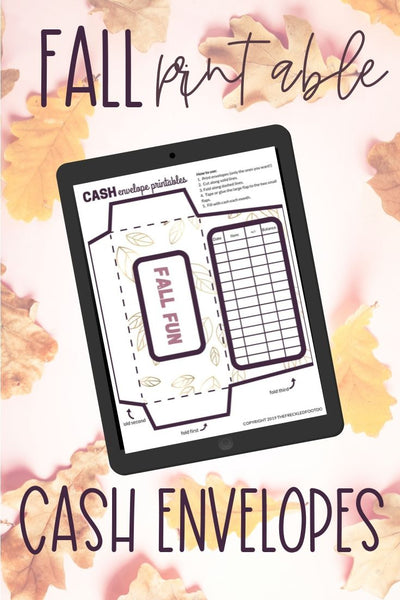 Fall Printable Cash Envelope System for Budgeting