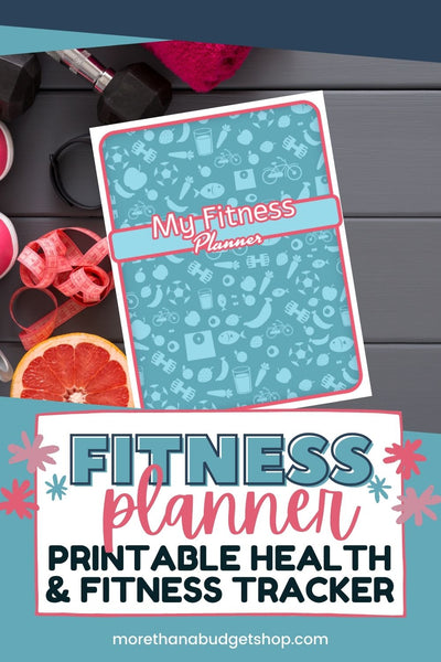 Fitness Planner | Printable Health & Fitness Planner | Printable Workout Binder | Fitness Tracker