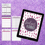Budget Planner Printable + Cash Envelopes