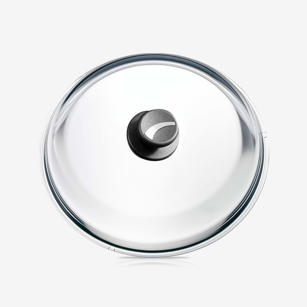 Glass Lid with Knob, stainless Steel Insert, Ø 24cm / 9.45