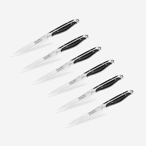 Quest 6pc Serrated Edge Quest Steak Knives