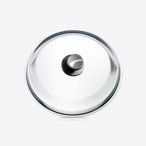 "Glass Lid with Knob, stainless Steel Insert, Ø 20cm / 7.87"" PYREX®"