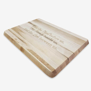 "Grooved Steak/Utility Canadian Maple Board w/blessing 10""x14""x3/4"", 98-944-14100B"