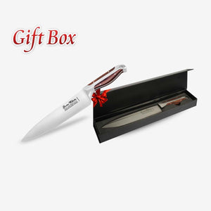 8-inch Chef Knife, Executive Chef Series, Brown Pakkawood with Gift Box Model 208G