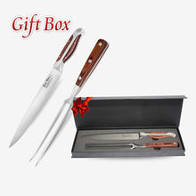 8 Inch Pointed Carving Gift Set