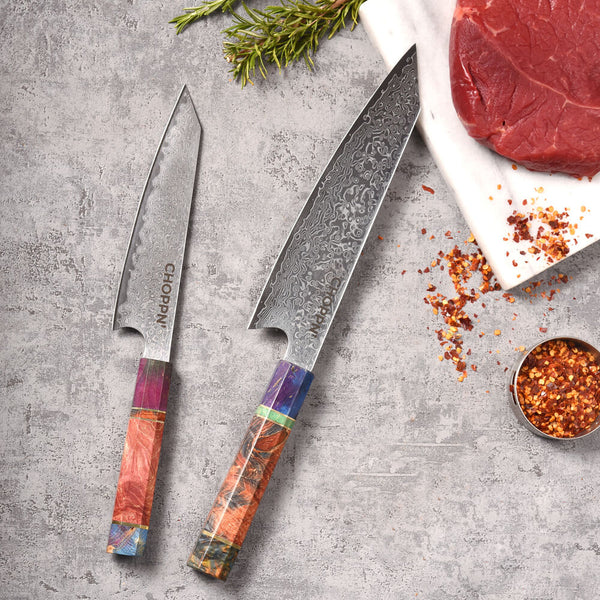Choppn' Knives - 2 Piece Set - 8