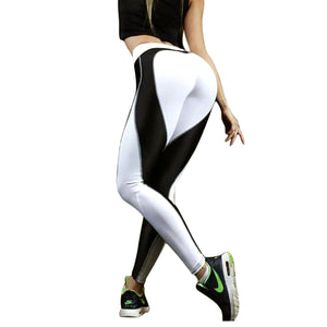 OK 2018 Heart Shape Leggings Women Red Pants Jumpsuit Athletic Leggings Running Gym Waist High Size Workout Sport Sexy - Deluxefitness