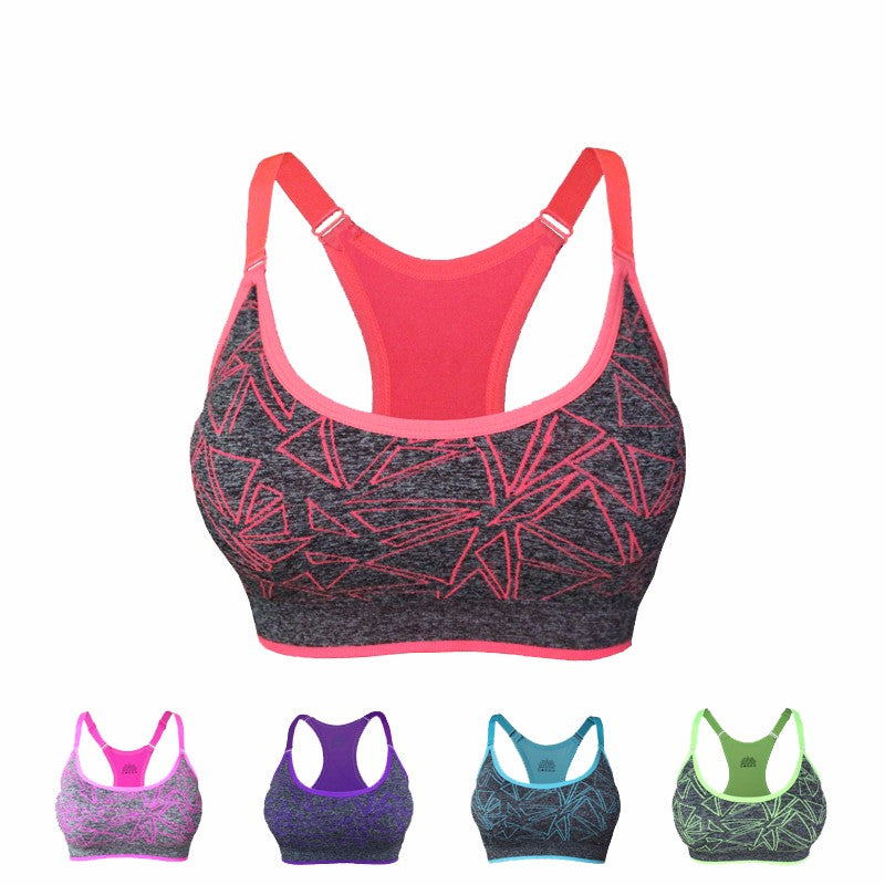 Absorb Sweat Sports Bra Stretch Tank Top