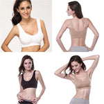 Original Hot Sales! Women Lady Yoga Vest Seamless Fitness Sports Bra Tops Gym Underwear Bras 3 Colors M L XL - Deluxefitness