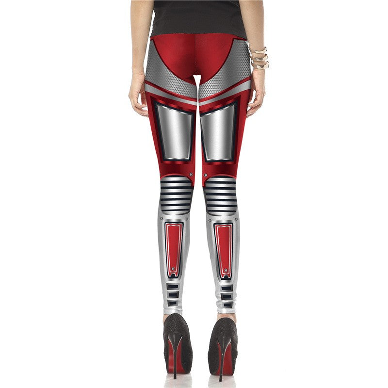 Super HERO Deadpool Woman Sports Leggins - Deluxefitness