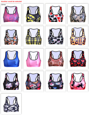 ORIGINAL DELUXE 2018 MODEL!  Batman Sports Bras Top Deportivo Mujer Cropped Breathable Women Yoga Bra Tanks GYM Sexy Push Up Shakeproof Fitness Vests - Deluxefitness
