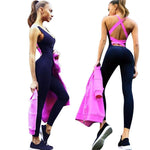 Backless Fitness Costume