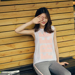 Yoga Top Sport T Shirt Women Quick Dry Fitness Clothing Yoga Tank Tops - Deluxefitness