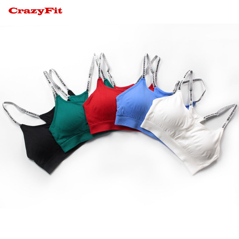 NEW 2018! Red Adjustable Yoga Top Sports Bra Top Female Women Push Up 2018 For fitness Athletic Gym Workout Sport Brassiere Underwear Bras - Deluxefitness