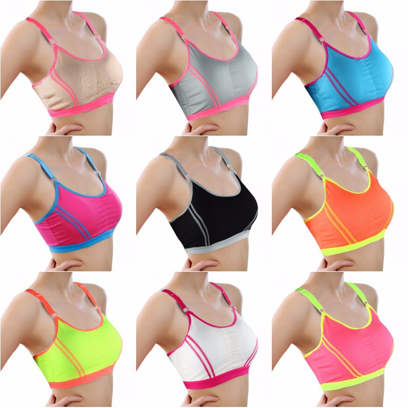 SEXY DELUXE 2018! Fitness Women Yoga Top Sexy Push-up Sports Bra Yoga Fitness Vest Sport  Bra Workout Running Top Bra - Deluxefitness