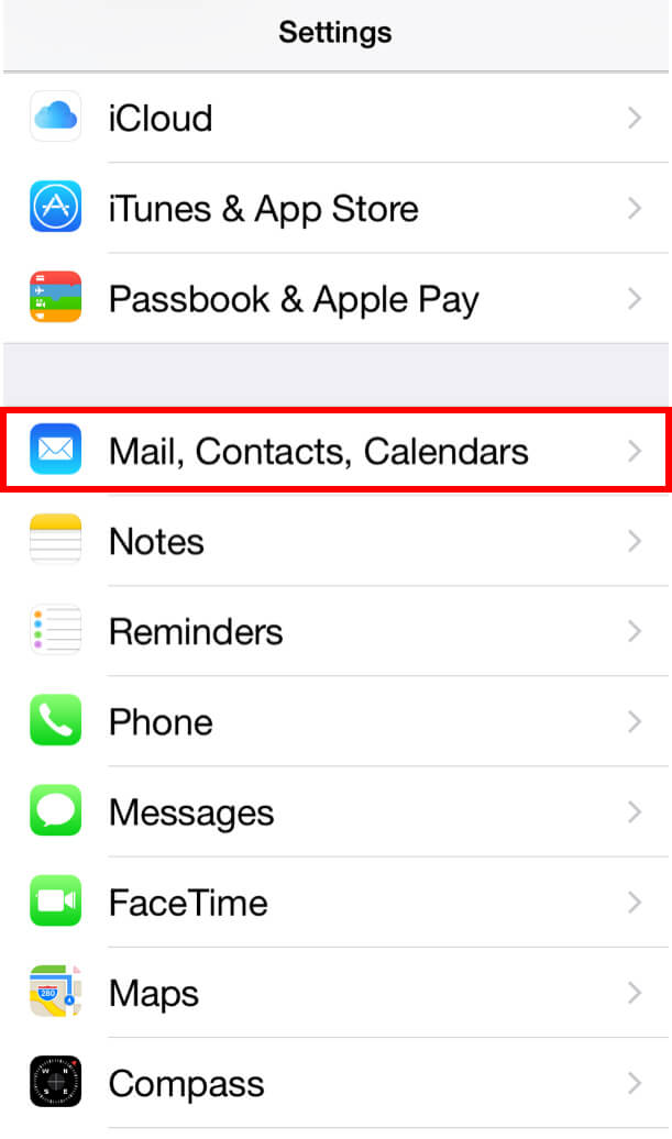configure exchange email on iPhone