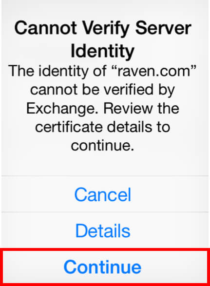 Configure Exchange Email For iPhone