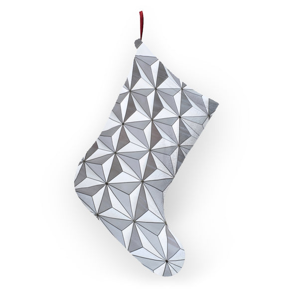 Spaceship Earth Christmas Stocking
