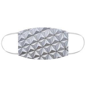 Spaceship Earth Face Mask