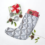 Spaceship Earth Christmas Stocking, Holiday Sock, Mantle, Disney Christmas Decor, Epcot Gift, Epcot Decor