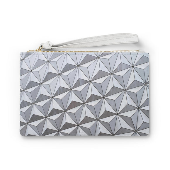Spaceship Earth Clutch Bag