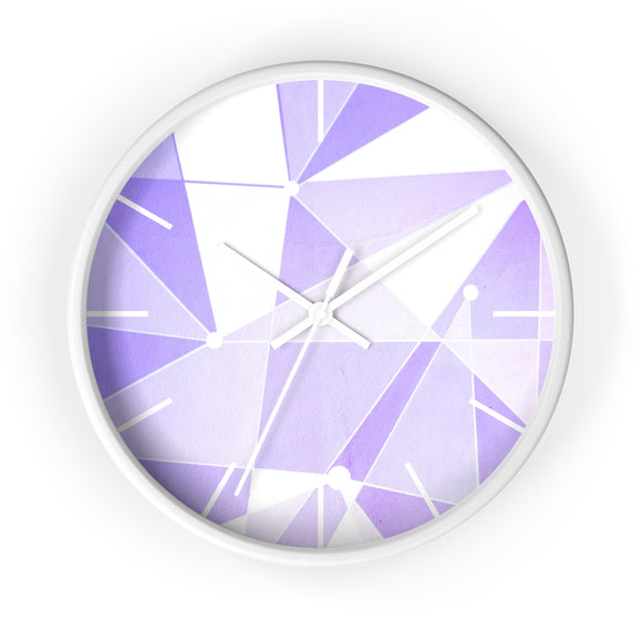 Purple Wall, Wall Clock